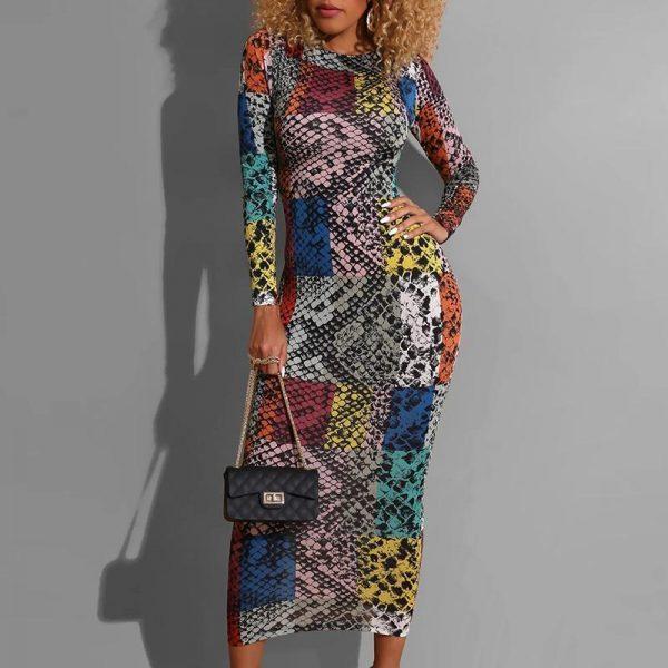 Bohemian Style Maxi Dress