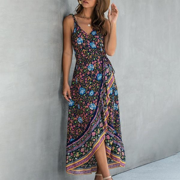 Bohemian Asymmetric Dress