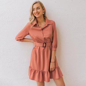 Elegant Bohemian Sleeve Dress