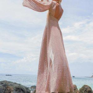 Bohemian Beach Maxi Dress