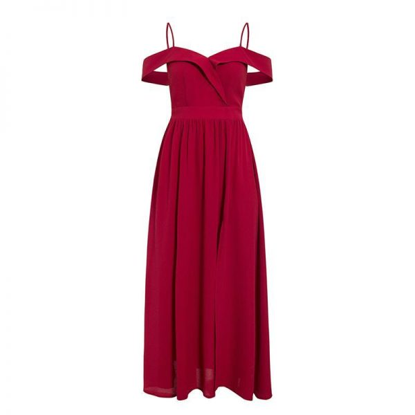 Bohemian Bridesmaid Dress