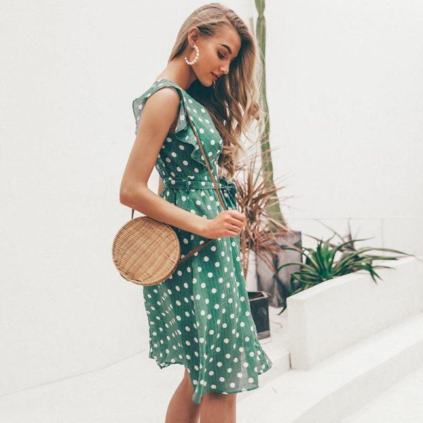 Little Hippie Dot Dress