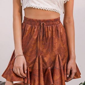 Skirt boheme saxony