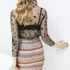 Bohemian chic hippie skirt