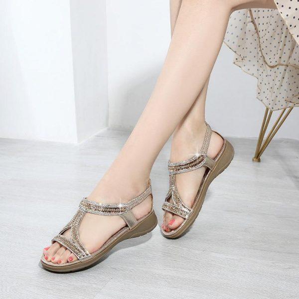 Bohemian Sequin Sandals