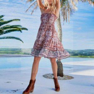 Bohemian dress woman
